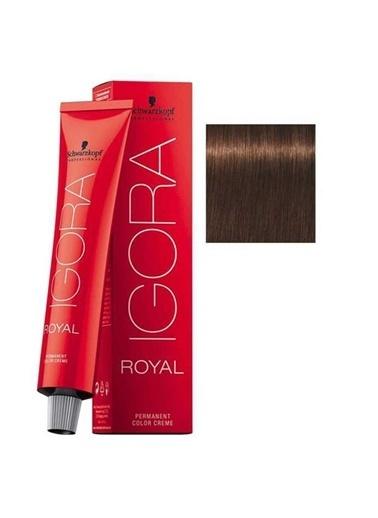Schwarzkopf Igora Royal No:5-57 Altın Bakır-Açık Kahve Saç Boyası Kahve